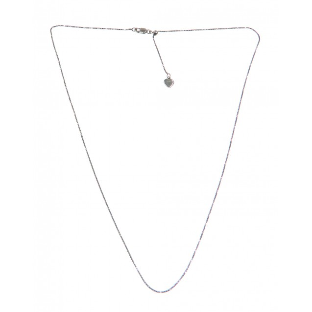 Silver-Necklace-Slide Bead